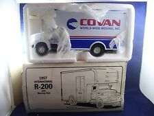 First Gear Covan World Wide Moving 1957 Int'l R-200 Moving Van #19-1287