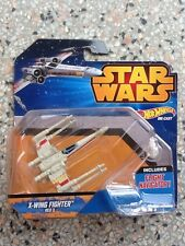 HOT WHEELS - STAR WARS - X-WING FIGHTER (RED 3) DIE CAST *NEW*