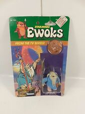 SEALED VINTAGE STAR WARS EWOKS CARTOON LOGRAY MEDICINE MAN FIGURE KENNER 1985