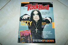 ROCK HARD MAG 7/2005 OZZY SYSTEM OF A DOWN