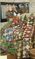 Under The Pines Snuggler Quilt Pattern Pieced/Applique DF
