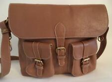 BODEN LARGE BROWN LEATHER SATCHEL SHOULDER BAG HANDBAG
