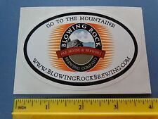 Beer Collectible STICKER ~*~ BLOWING ROCK Ale House & Brewery ~*~ North CAROLINA