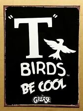 Grease T Birds - Tin Metal Wall Sign