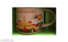 You Are Here Vietnam Ho Chi Minh Starbucks Mug New Collection Oz 14 Box Rare Yah