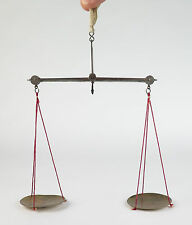 19th century coin scales with iron beam