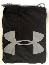 Under Armour 1240539 Ozzie Sackpack, Black/Silver - DK14_S