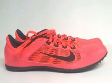 Nike Zoom Rival Md Mens 10.5 Womens 12 616312 600 Running Track Shoes Atomic Red