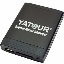 USB Adattatore mp3 AUX Interface Caricatore CD Renault Clio 2 TRAFIC modalità VEL SATIS