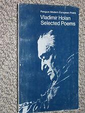 Penguin Modern European Poets Vladimir Holan Selected Poems 1971 Czechoslovakia