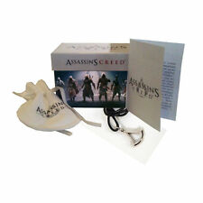 ASSASSIN'S CREED CIONDOLO CREST GRANDE NECKLACE PENDANT AS76.76 LACCIO NERO NEW