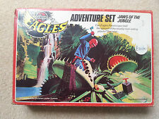 "Airfix v. rare eagles ""mâchoires de la jungle"" adventure set coffret complet 1977"