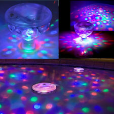 New Underwater LED Floating Disco Light Show Bath Tub Swimming Pool Party Lights