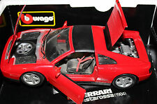 Burago 1:18 Scale FERRARI 348 (RED) - WRONG BOX