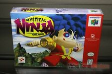 Mystical Ninja Starring Goemon (Nintendo 64, N64 1998) H-SEAM SEALED! - RARE!