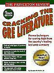 Princeton Review: Cracking the GRE Literature, 2nd Edition (2nd ed)-ExLibrary