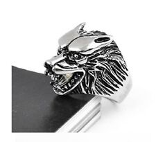 Bague Tete de loup Game Of Thrones House STARK  Taille 54/55