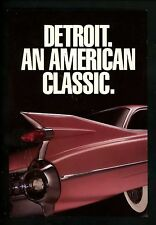 Car Auto Advertising postcard Detroit, Michigan MI 1959 Cadillac GM