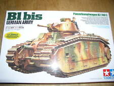 Tamiya 1/35 B1 bis Tanks (German Army Ver.)  Model Tank Kit #35287
