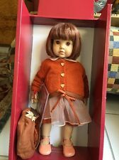 "Gotz 16.5"" Alicia Vinyl Doll Artist Hildegard Gunzel 35/1500 New 2003 NIB"