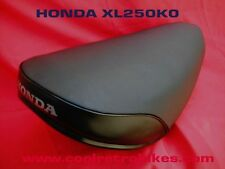 1972 HONDA XL250K0 XL 250 K0 COMPLETE SEAT COVER KIT SHOW QUALITY ONLY 1 ON EBAY