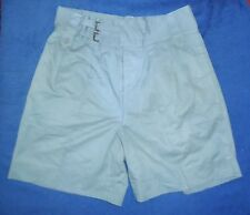 HONG KONG / SINGAPORE POLICE SHORTS - COTTON SAFARI SUIT GREAT USED CONDITION