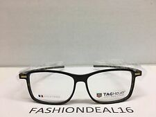 New w/TAGS Tag Heuer Authentic Reflex Havana Brown 57mm TH3956 003 Eyeglasses