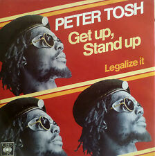 "7"" 1977 REGGAE RARE MINT-! PETER TOSH : Get Up Stand Up"