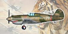 Trumpeter 1/48 CURTISS h-81a-2 AVG (p-40 Hawk) Flying Tigers (NUOVO)