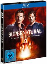 SUPERNATURAL, Staffel 5 (4 Blu-ray Discs) NEU+OVP