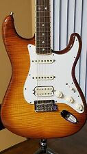 Fender stratocaster Select HSS Flametop w/ Rosewood channeled fretboard Unplayed