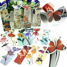 10 pcs Creative Butterfly Bookmark Cartoon Book Mark Paper Clip New