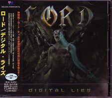 LORD Digital Lies + 2 JAPAN CD Dungeon Australia Power Metal !