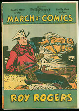 Roy Rogers March of Comics #68, Very Nice, has Poll Parrot's overlay cover