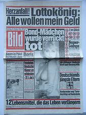 Bild Zeitung 25.10.1986, Suzie Jerome, Ringo Starr, zum 30. Geburtstag