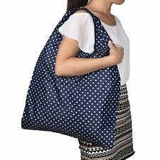 Reusable Eco Shoulder Style Foldable Shopping Bag Tote Grocery Foldable Storage