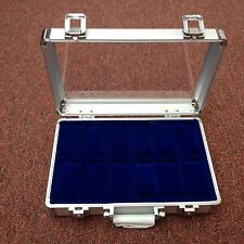 Stunning Aluminium Watch Display Case/Box - Holds 12 Watches