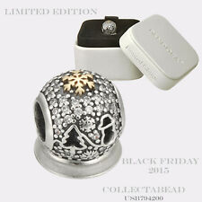 Authentic Pandora Silver Wonderland Holiday Black Friday 2015 Bead USB794200
