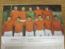 1969/1970 Football League Review: Vol 4 No 34 - Colour Picture - Blackpool . Con