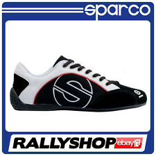 Sparco shoes Esse , size 45,Black PIT LEISURE TRAINERS RACE RALLY WEAR  SPORTS
