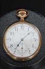 �� RARE 1900 WALTHAM 21Js VANGUARD LEVER SET '92 MODEL GOLD FILLED POCKET WATCH