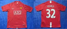 Carlos Tevez MANCHESTER UNITED #32 Home shirt NIKE 2009 SIZE XL.Boys (XS adults)