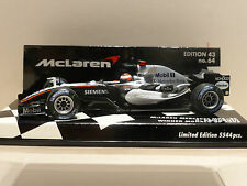 Minichamps 1:43 Kimi Raikkonen McLaren Mercedes MP4-20 Monaco GP Winner 2005