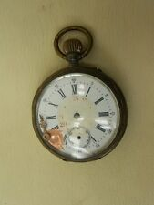 Antiguo reloj de bolsillo 800 Plata Galonne defectuoso