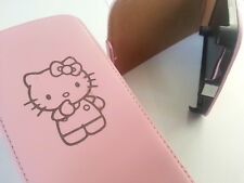 SAMSUNG GALAXY S3 I9300 HELLO KITTY PELLE ROSA FLIP PHONE Custodia COVER PELLE Carino