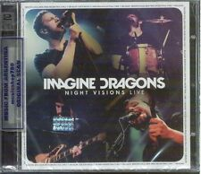 CD + DVD SET IMAGINE DRAGONS NIGHT VISIONS LIVE SEALED NEW 2014