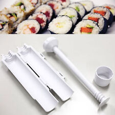 Perfect Sushi Roll Maker Kit Sushezi Rice Roller Mold Mould Chef Kitchen DIY Set