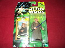 Star Wars - Power of the jedi  Saesee Tiin with fact file jedi master with saber