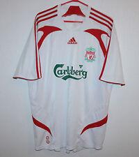 Liverpool England away shirt 07/08 Adidas Gerrard Skrtel Mascherano