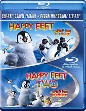 Happy Feet/Happy Feet 2 (Ws)  Blu-Ray NEW